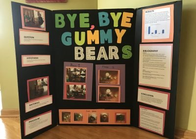 Bye, Bye, Gummy Bears!