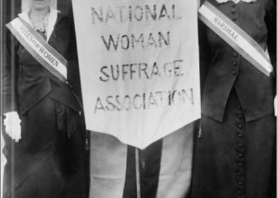 A Windy History of Women's Suffrage