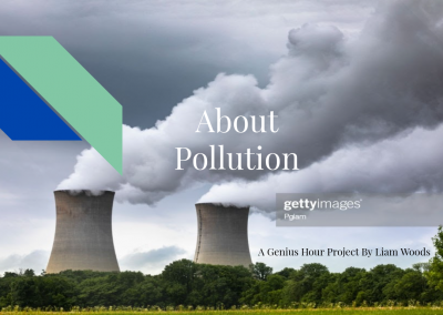 The Planet And Pollution